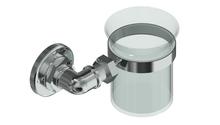 Valsan PI115UB Industrial Unlacquered Brass Tumbler Holder