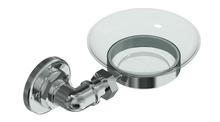 Valsan PI135UB Industrial Unlacquered Brass Soap Dish Holder