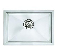 "Blanco 516223 Undermount 22"" X 18"" R10 Single Bowl Kitchen Sink - Stainless"