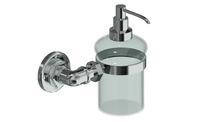 Valsan PI231UB Industrial Unlacquered Brass Liquid Soap Dispenser, 8 oz