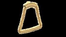 Valsan PL121GD Luxis 24K Gold Toilet Paper Holder