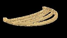 Valsan PL154GD Luxis 24K Gold Towel Rack