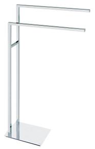 Valsan PTR899CR Tetris R Chrome Freestanding Towel Rail