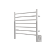 "Amba RWHS-SMB Radiant Small Hardwired Electric Towel Warmer - 20 3/8"" W x 21 1/4"" H - Matte Black"