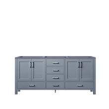 Lexora Jacques 60 Inch Dark Grey Vanity Cabinet Only