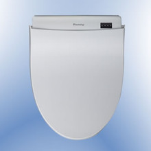 Blooming R1570-EW Elongated Bidet Toilet Seat with Remote Control