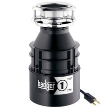 InSinkErator Badger 1 with Cord Garbage Disposal 1/3 HP
