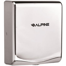 Alpine 405-10-CHR WILLOW High Speed Commercial Hand Dryer, 120V, Chrome