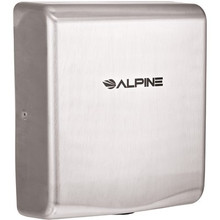 Alpine 405-10-SSB  WILLOW High Speed, Commercial Hand Dryer, Stainless Steel, 120V