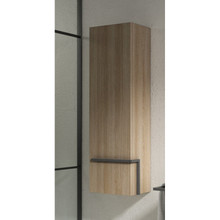 Lucena Bath 3907 Scala Tall Linen Side Cabinet With Left Side Door 13 Inch W x 44 Inch H - Terra