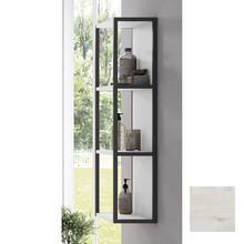 Lucena Bath 3928 Scala Tall Linen Side Cabinet, Open Unit 13 Inch W x 44 Inch H - Abedul