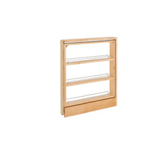Rev-A-Shelf 438-BCSC-3C 3 in Base Cabinet Organizer - Natural