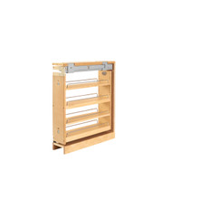 Rev-A-Shelf 438-BCSC-6C 6 in Base Cabinet Organizer - Natural
