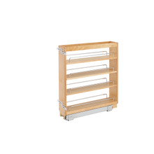 Rev-A-Shelf 448-BC-5C 5 in Base Cabinet Organizer - Natural