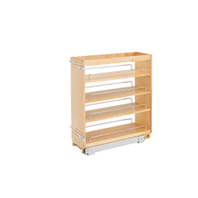 Rev-A-Shelf 448-BC-8C 8 in Base Cabinet Organizer - Natural