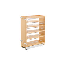 Rev-A-Shelf 448-BC19-8C 8 in Base Cabinet Organizer - Natural