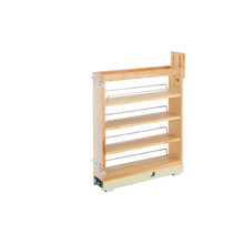 Rev-A-Shelf 448-BCBBSC-5C 5 in Base Cabinet Organizer Soft-Close - Natural