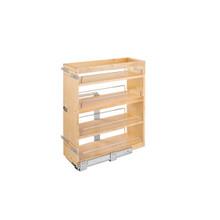 Rev-A-Shelf 449-BCSC-8C 9.25 in Base Cabinet Organizer Soft-Close - Natural