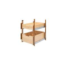 Rev-A-Shelf 4PIL-18SC-2 15 in Wood Pilaster System Kit - Natural