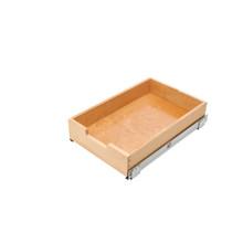 Rev-A-Shelf 4WDB4-18SC-1 14 in Wood Standard Pullout Drawer Soft-Close - Natural