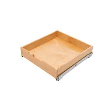 Rev-A-Shelf 4WDB4-24SC-1 20 in Wood Standard Pullout Drawer Soft-Close - Natural