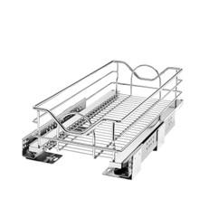 Rev-A-Shelf 5730-12CR 12 in Chrome Pullout Basket w/Soft-Close
