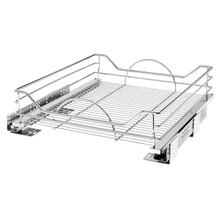 Rev-A-Shelf 5730-21CR 18 in Chrome Pullout Basket w/Soft-Close