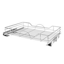 Rev-A-Shelf 5730-33CR 33 in Chrome Pullout Basket w/Soft-Close