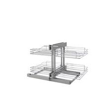 Rev-A-Shelf 5PSP-18SC-CR 18 in Chrome Blind Corner Organizer Soft-Close
