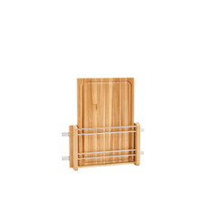 Rev-A-Shelf 4DMCB-18 Door mount Wood Cutting Board - Natural