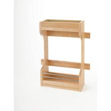 Rev-A-Shelf 4SBSU-18 Door mount Wood Sink Base Organizer - Natural