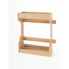 Rev-A-Shelf 4SBSU-21 Door mount Wood Sink Base Organizer - Natural
