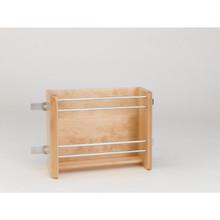 Rev-A-Shelf 4WFR-15-1 15 in Small Door mount Foil Rack - Natural