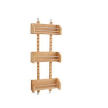 Rev-A-Shelf 4ASR-15 Small Adjustable Door mount Spice Rack - Natural
