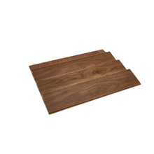 Rev-A-Shelf 4SDI-WN-24-1 22 in Wood Spice Drawer Insert - Walnut