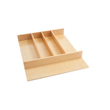 Rev-A-Shelf 4WUT-1 18.5 in Tall Wood Utility Tray Insert - Natural