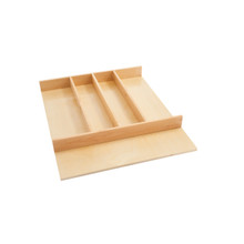 Rev-A-Shelf 4WUT-1SH 18.5 in Shallow Wood Utility Tray Insert - Natural