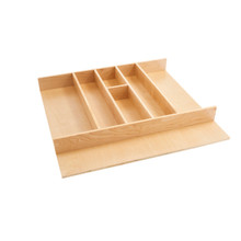 Rev-A-Shelf 4WUT-3 24 in Tall Wood Utility Tray Insert - Natural