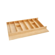 Rev-A-Shelf 4WUT-36-1 33 in Tall Wood Utility Tray Insert - Natural