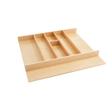 Rev-A-Shelf 4WUT-3SH 24 in Shallow Wood Utility Tray Insert - Natural