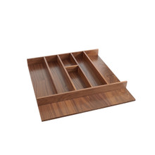 Rev-A-Shelf 4WUT-WN-3SH 24 in Short Walnut Utility Tray Insert