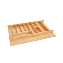 Rev-A-Shelf 4WUTCT-36-1 33 in Combo Utility/Cutlery Tray Insert - Natural