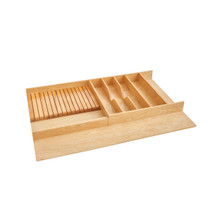 Rev-A-Shelf 4WUTKB-36-1 33 in Combo Utility/Knife Tray Insert - Natural