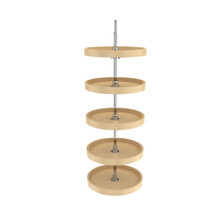 Rev-A-Shelf 6065-18-15-52 18 in Almond Polymer Pantry Full Circle Lazy Susans
