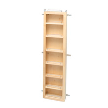 Rev-A-Shelf 4WDP18-57 57 in Pantry Door Unit Only - Natural