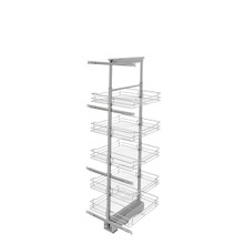 Rev-A-Shelf 5758-20-CR-1 20 in Chrome Basket Pantry Pullout Soft Close