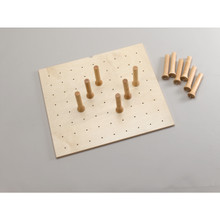 Rev-A-Shelf 4DPB-2421 Small 24 x 21 Wood Peg Board - Natural