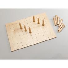 Rev-A-Shelf 4DPB-3021 Medium 30 x 21 Wood Peg Board - Natural