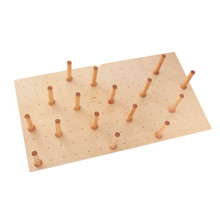Rev-A-Shelf 4DPS-3921 Large 39 x 21 Wood Peg Board System w/16 pegs - Natural