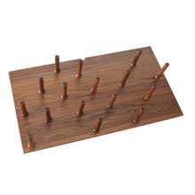 Rev-A-Shelf 4DPS-WN-3921 Large 39 x 21 Wood Peg Board System w/16 pegs - Walnut